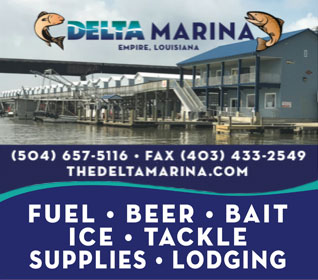 Delta Marina located in Empire, Louisiana