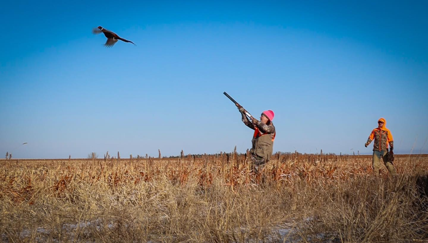 Hunting wild birds, often it takes more than one shot to drop a bird.