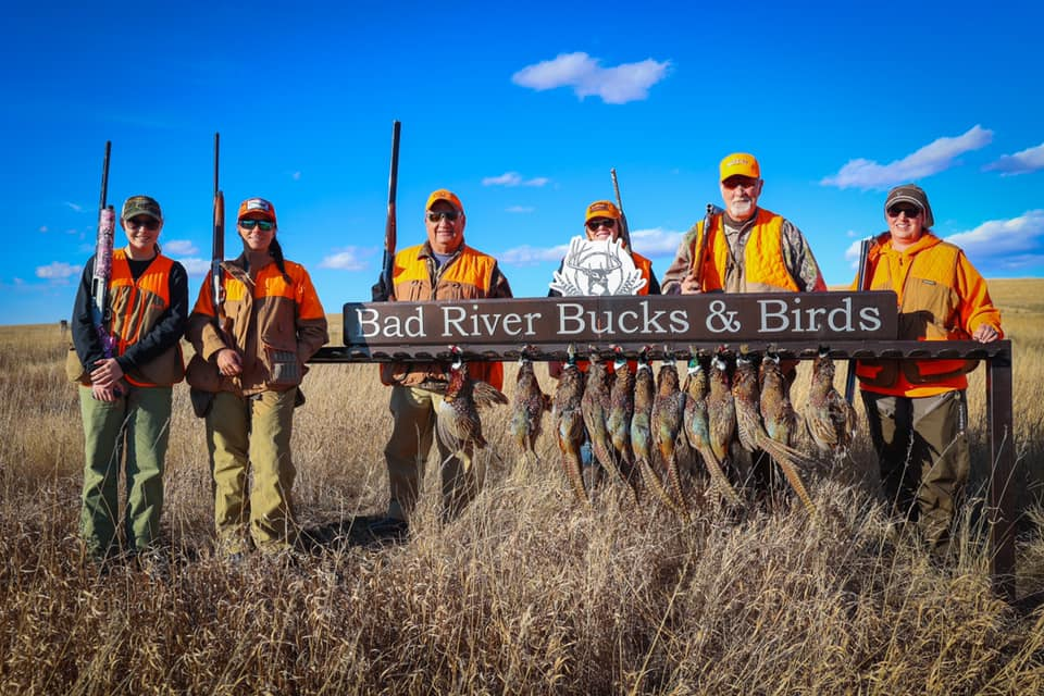 Bad River Bucks & Birds in Draper, SD